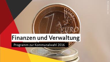 Finanzen Kommunalwahl 2016