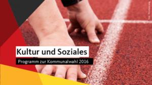 Kultur Kommunalwahl 2016