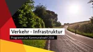 Verkehr Kommunalwahl 2016